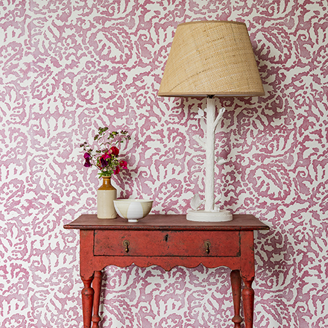 Majolica wallpaper, colourway Gaucho