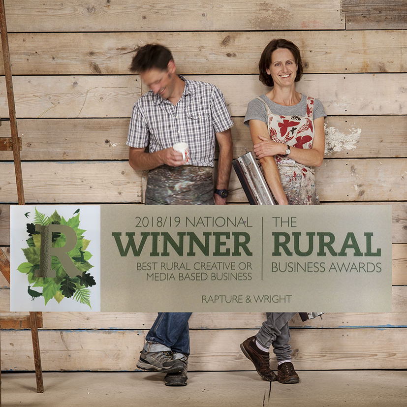 Best Creative Business in the UK -  Winner of the rural business awards
